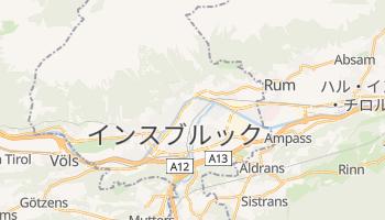 インスブルック の地図