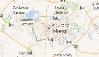 ミンスク の地図