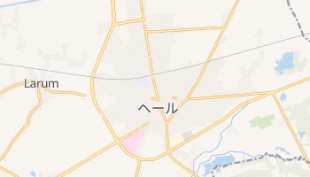 ヘール の地図