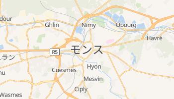 モンス の地図