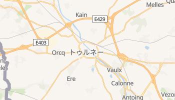 トゥルネー の地図