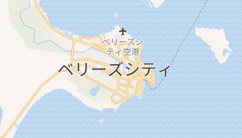 ベリーズ の地図