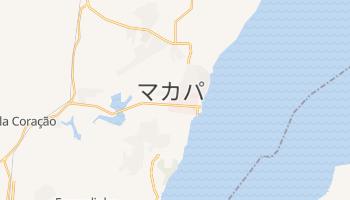 マカパ の地図