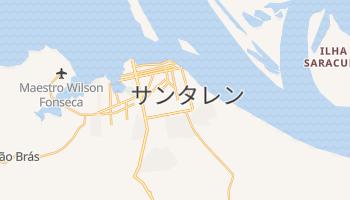 サンタレン の地図