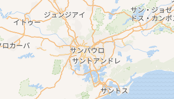 サンパウロ の地図