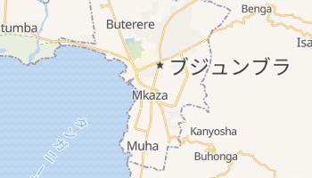 ブジュンブラ の地図