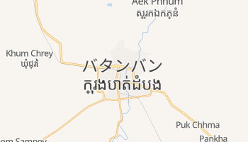 バタンバン の地図