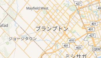 ブランプトン の地図