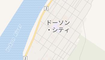 ドーソン・シティ の地図
