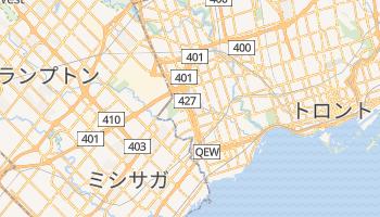 エトビコ の地図