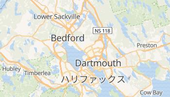 ハリファックス の地図