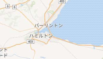 ハミルトン の地図