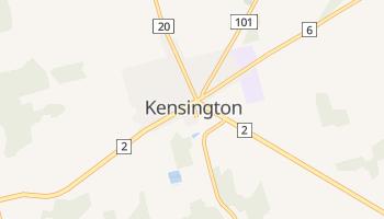 ケンジントン の地図