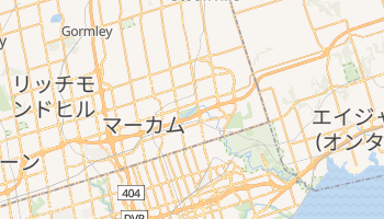 マーカム の地図