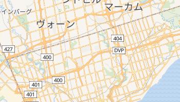 ノースヨーク の地図