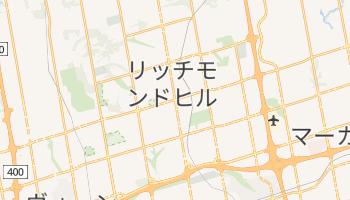 リッチモンドヒル の地図