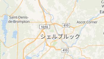 シェルブルック の地図
