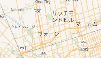 ヴォーン の地図