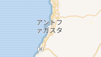 アントファガスタ の地図