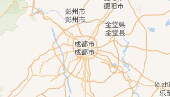 成都 の地図