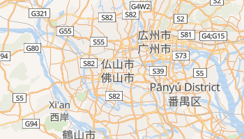 仏山市 の地図