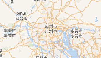 広州市 の地図