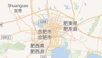 合肥市 の地図