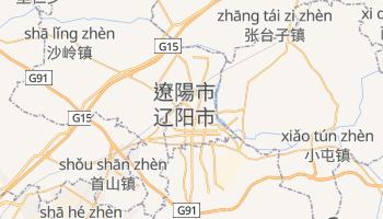 遼陽市 の地図