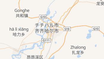 チチハル の地図