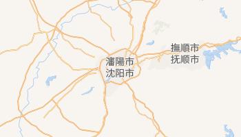 瀋陽市 の地図