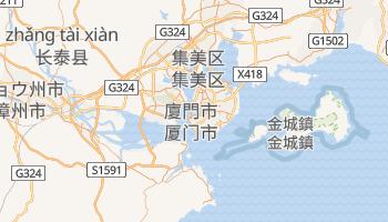 廈門市 の地図