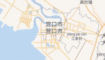 営口市 の地図