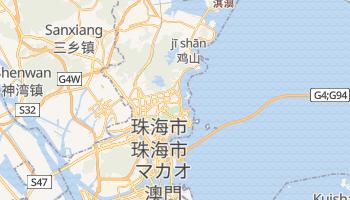 珠海市 の地図