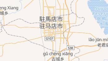駐馬店市 の地図