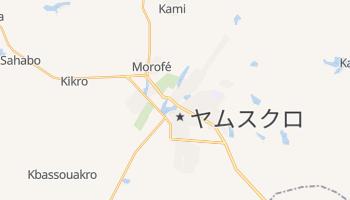 ヤムスクロ の地図