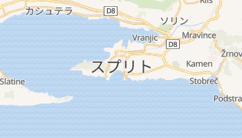 スプリット の地図