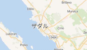 ザダル の地図