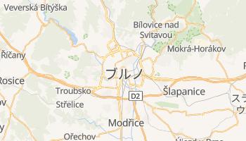 ブルノ の地図
