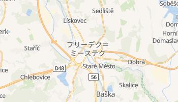 フリーデク=ミーステク の地図