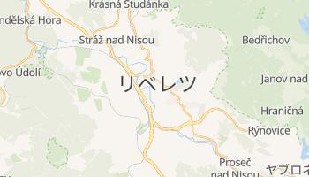 リベレツ の地図