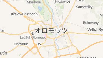 オロモウツ の地図