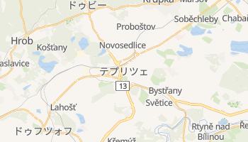 テプリツェ の地図