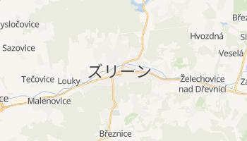 ズリーン の地図