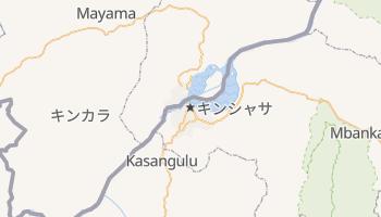 キンシャサ の地図
