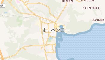 オーベンロー の地図