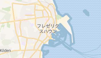 フレゼリクスハウン の地図