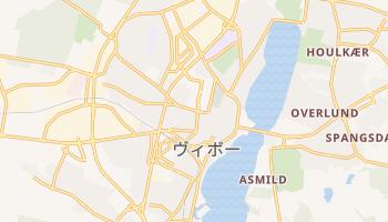 ヴィボー の地図