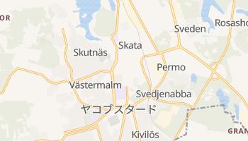 ヤコブスタード の地図