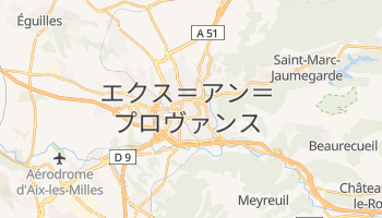 エクス=アン=プロヴァンス の地図