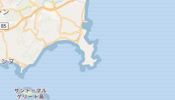 アンティーブ の地図